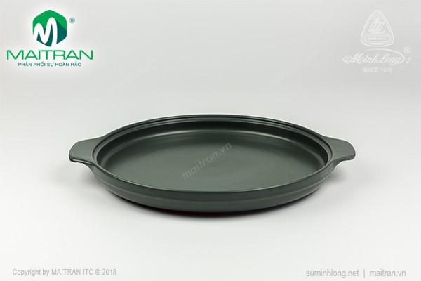 Nồi sứ dưỡng sinh Minh Long Chảo cạn 28 cm