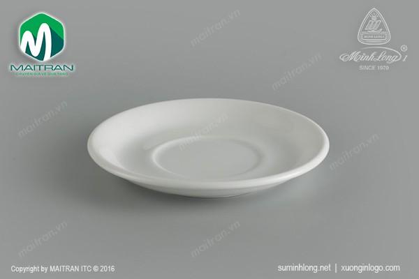 Ly's Horeca gốm sứ Minh Long Dĩa lót tách 12 cm Jasmine Ly's Horeca