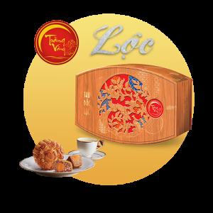 Bánh trung thu Kinh Đô Trăng Vàng Bạch Kim Đắc Lộc