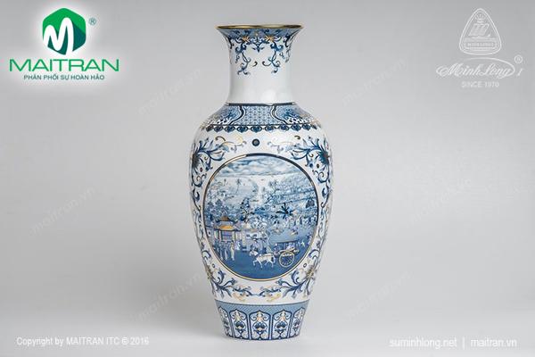 Bình hoa Hồn Việt 45 cm