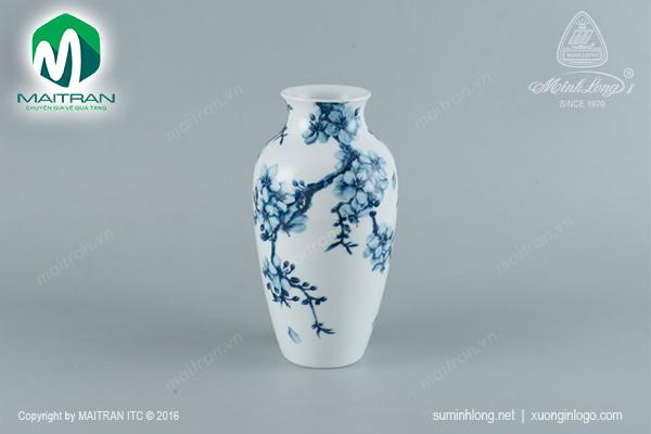 Bình hoa Mai Cobalt 27 cm