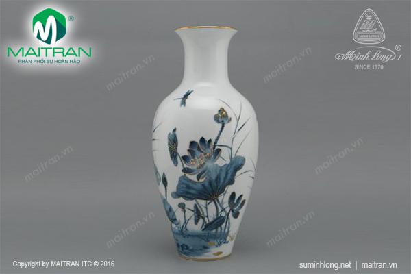 Bình hoa Sen Vàng 30 cm