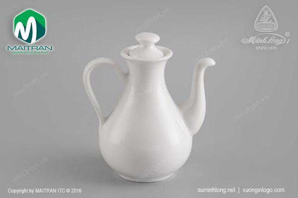 Bình nước tương gốm sứ Minh Long Jasmine