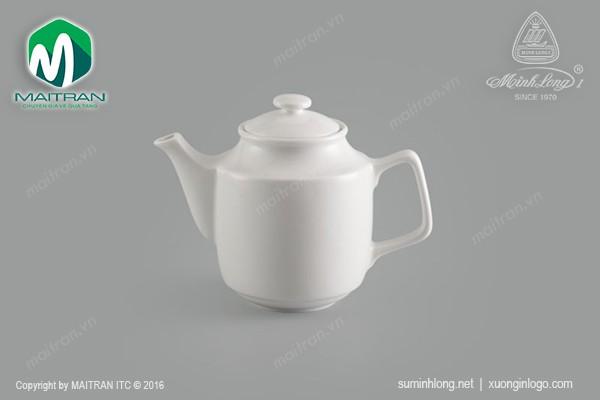 Ly's Horeca gốm sứ Minh Long Bình trà gốm sứ Minh Long Jasmine 0.7L + nắp