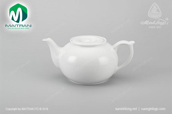 Bình trà + nắp vòi lên gốm sứ Minh Long Jasmine 1.1L