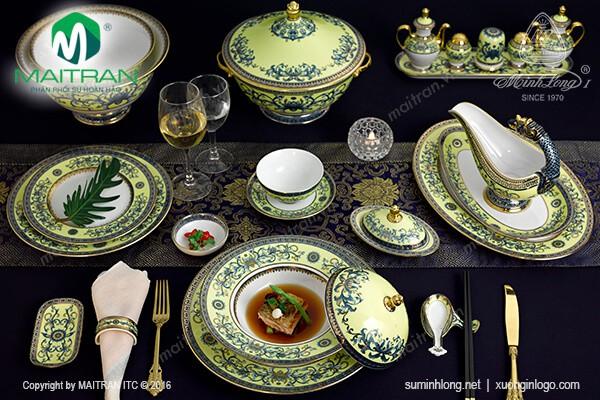 Sản phẩm Hoàng Liên Bộ bàn ăn Hoàng Liên 82 sản phẩm