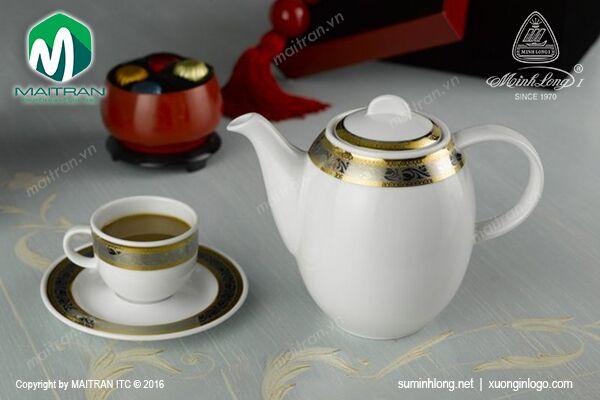 Bộ cà phê 1.3L Sago Hoa Hồng