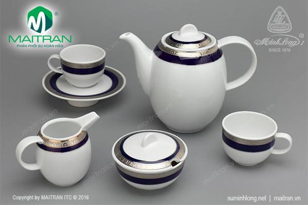 Bộ cà phê Sago 1.3L Thiên Tuế Xanh
