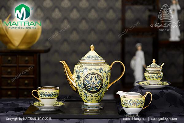 Bộ cà phê 1.5L Hoàng Liên