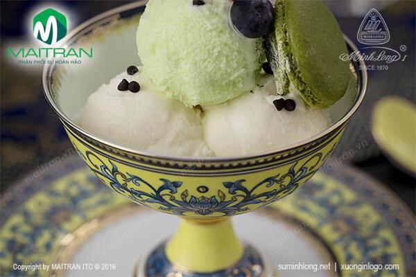 Bộ ly ăn kem Hoàng Liên