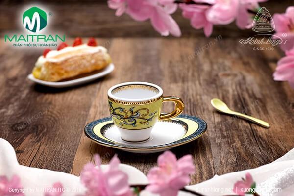 Sản phẩm Hoàng Liên Bộ tách Espresso Hoàng Liên 0.07L