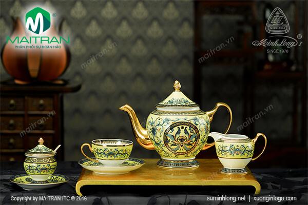 Bộ trà 1.3L Hoàng Liên 15 sản phẩm