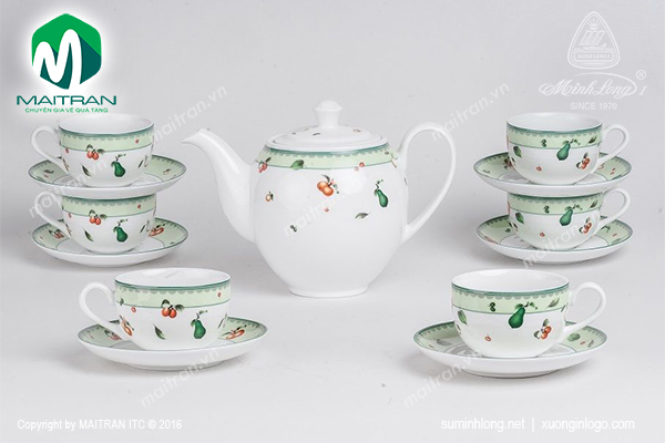 Bộ trà 0.8L Camellia Quả Ngọt