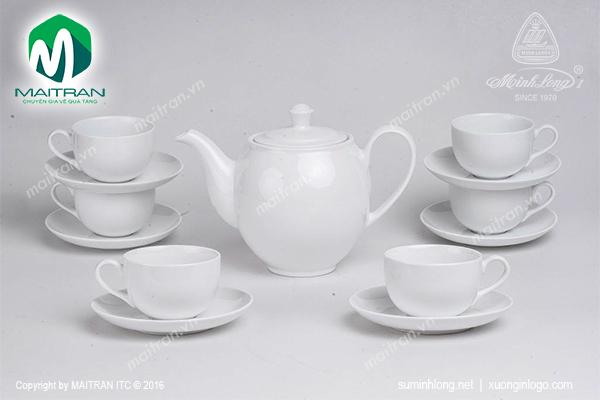Bộ trà 0.5L Camellia trắng