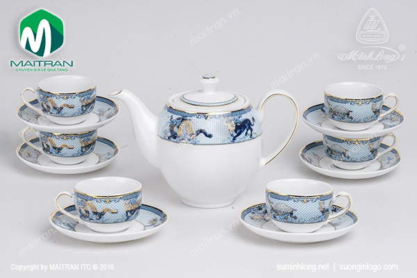 Bộ trà 0.8L Camellia Tứ Linh