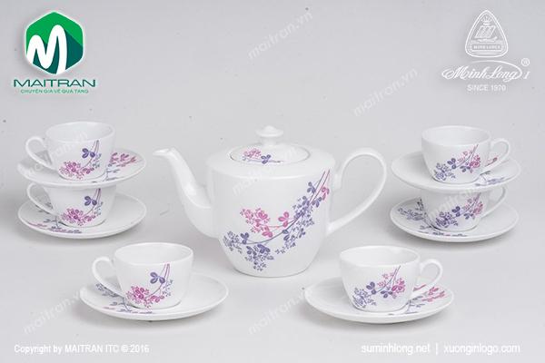 Bộ trà 0.45L Daisy Cỏ Tím