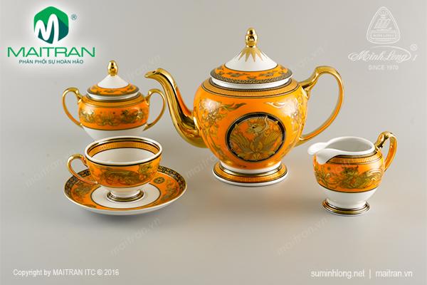 Bộ trà 1.3L Hoàng bào sen
