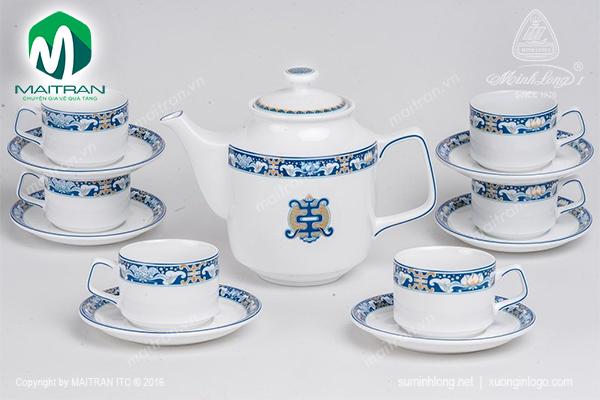 Bộ trà 1.1LJasmine Phúc Lộc Thọ