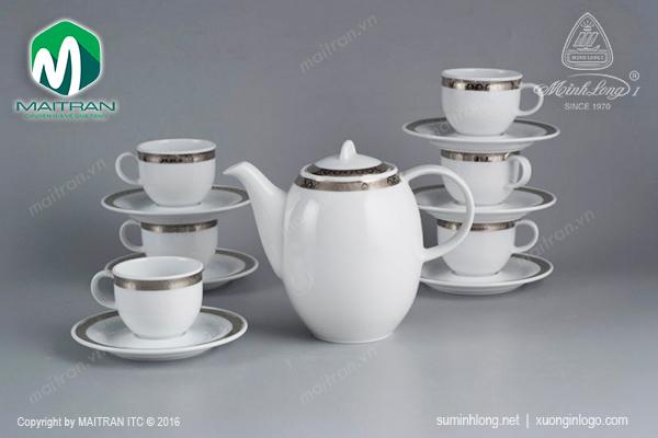 Bộ trà 0.8L Sago Thiên Tuế