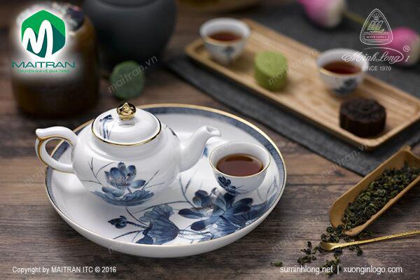 Bộ trà 0.35L Sen Vàng