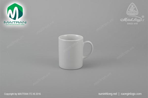 Ca gốm sứ Minh Long Ca 0.3L Jasmine trắng