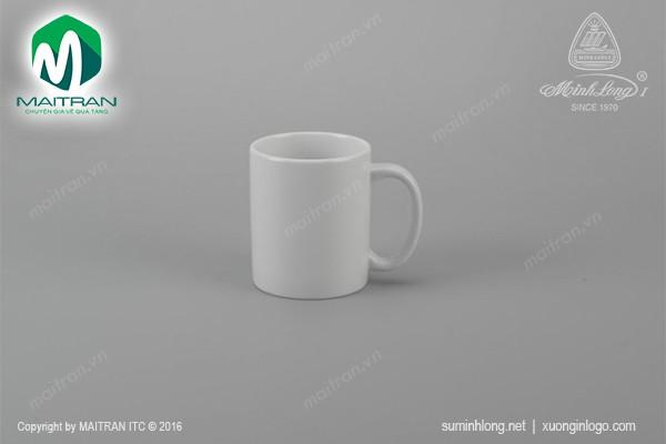 Ca gốm sứ Minh Long Ca 0.36L Jasmine trắng