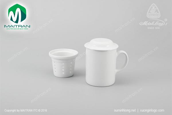 Ca lọc trà Jasmine trắng