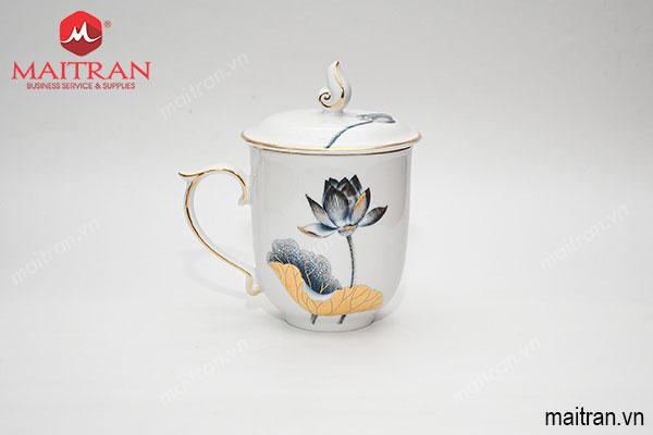 Ca trà 0.3L Mẫu Đơn Tịnh Tâm Vàng