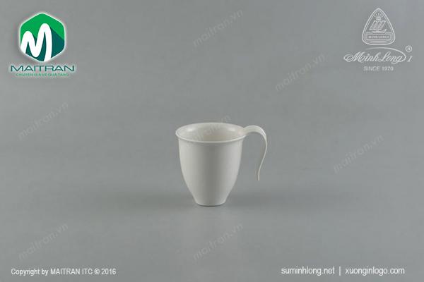 Ca trà gốm sứ Minh Long 0.35L Anh Vũ