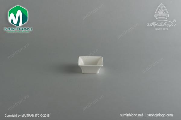 Chén chấm vuông 7cm Anh Vũ