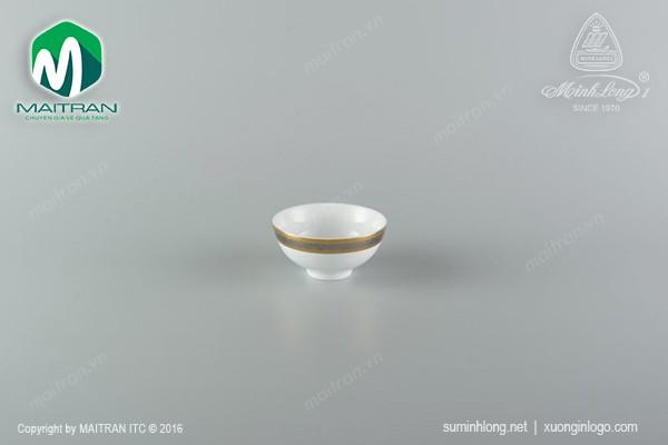 Chén gốm sứ Minh Long Chén cơm 11.5 cm Sago Hoa Hồng