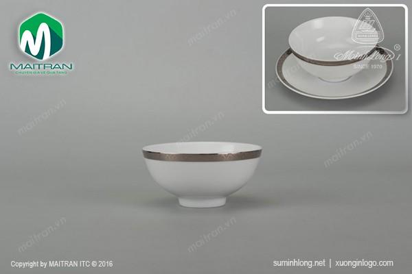 Chén gốm sứ Minh Long Chén cơm 11.5 cm Sago Thiên Tuế