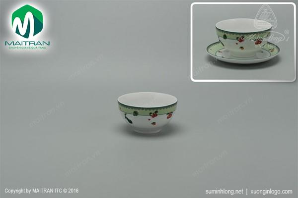 Chén gốm sứ Minh Long Chén 12 cm Camellia Quả ngọt
