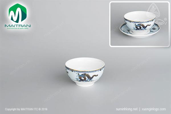 Chén Camellia Tứ Linh 12 cm