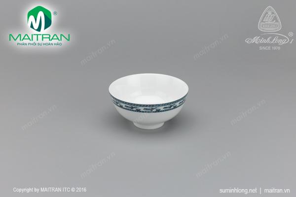 Chén gốm sứ Minh Long Chén Jasmine Chim Lạc 11.5 cm