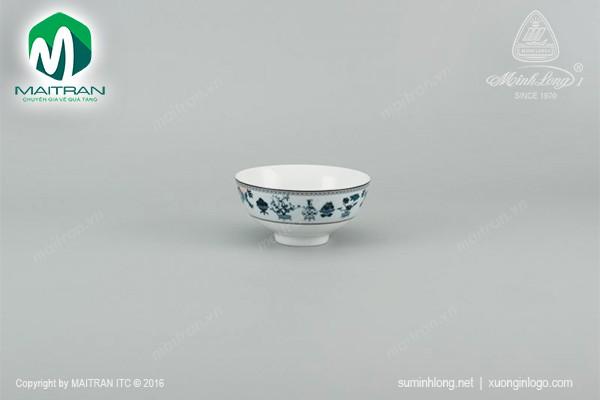 Chén gốm sứ Minh Long Chén cơm 11.5 cm Jasmine Tứ Quý
