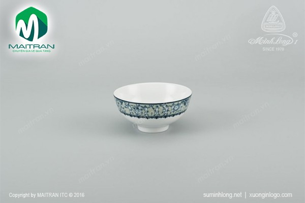 Chén gốm sứ Minh Long Chén Jasmine Vinh Quy Nhạt 11 cm