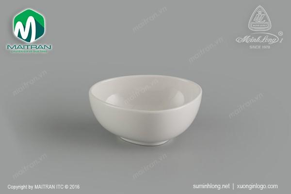 Ly's Horeca gốm sứ Minh Long Chén tam giác 10cm Gourmet Ly's Horeca