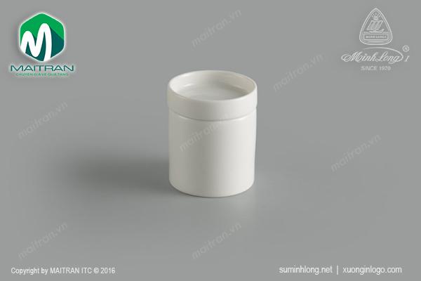 Chum cao gốm sứ Minh Long Gourmet 5.5cm