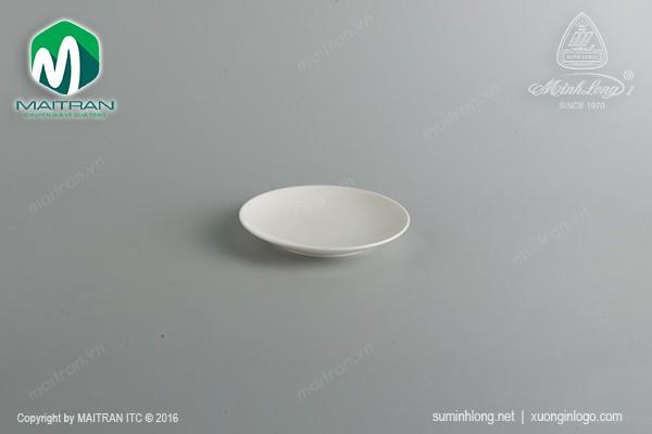 Ly's Horeca gốm sứ Minh Long Dĩa lót chén cơm 15.5cm Daisy Ly's Horeca