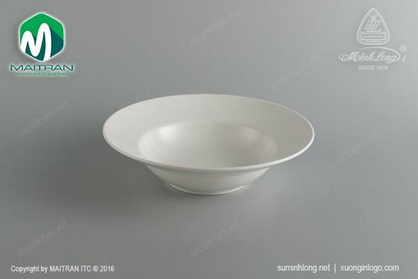 Ly's Horeca gốm sứ Minh Long Dĩa súp 24.2 cm Anh Vũ Ly's Horeca