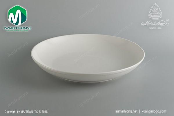 Ly's Horeca gốm sứ Minh Long Dĩa tròn sâu 35.5 cm Anh Vũ Ly's Horeca