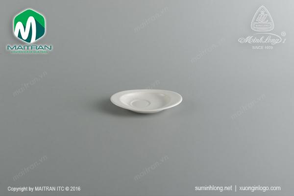 Dĩa lót Oval 14 x 10 cm Daisy Ly's Horeca