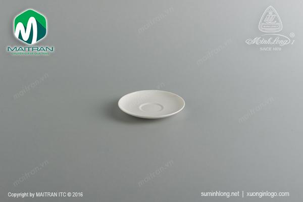 Dĩa lót tách cappuccino 17 cm Daisy Ly's Horeca