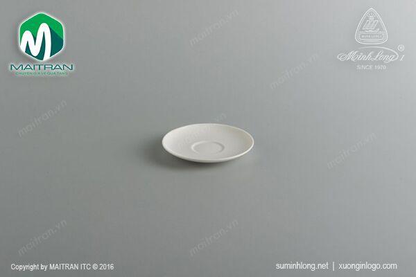 Ly's Horeca gốm sứ Minh Long Dĩa lót tách 12 cm Daisy Ly's Horeca