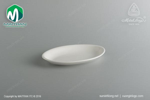 Dĩa Oval ảo 25 cm Daisy Ly's Horeca