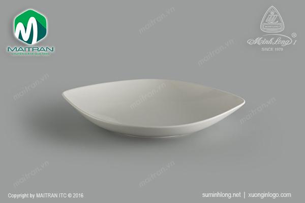 Dĩa oval bầu Gourmet Ly's Horeca 37 cm