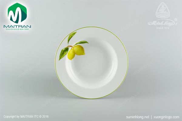 Dĩa súp 20 cm Camellia Quả Chanh