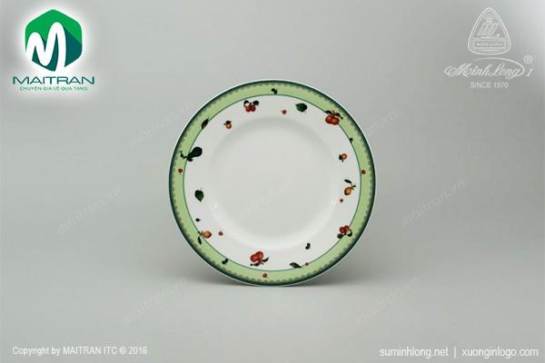 Dĩa gốm sứ Minh Long Dĩa súp 25 cm Camellia Quả Ngọt