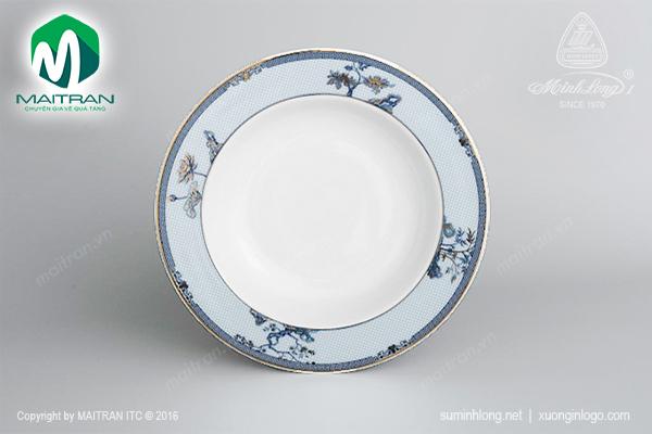 Dĩa súp Camellia Tứ Linh 20 cm